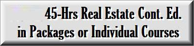 Real Estate  4-Years Continuing Education