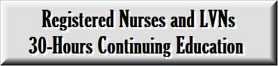 Registered Nurse Continuing Education
